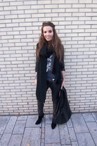 warehouse jacket - Bershka pants - Ebay boots