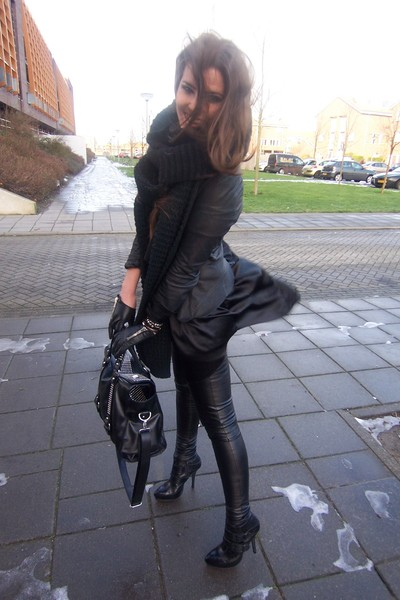 Leather Legging Boots