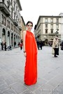 Silk-long-dress-celine-dress