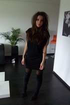 Selected Femme dress - Zara boots