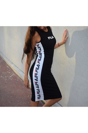 cotton fila dress