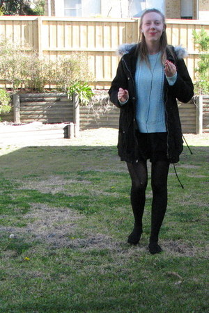 aquamarine Jay Jays sweater - black rubi loafers