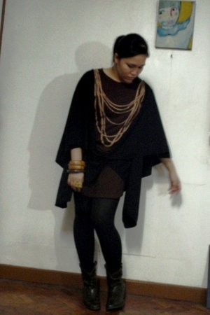 Tyler coat - t-shirt - accessories - Zara shoes - Anthology accessories