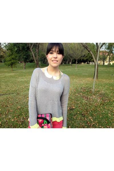 Forever 21 sweater - Zara pants