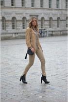 Gucci bag - Zara pants