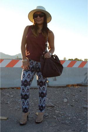 Kiss jeans - Target hat - TJMaxx bag - Charlotte Russe heels