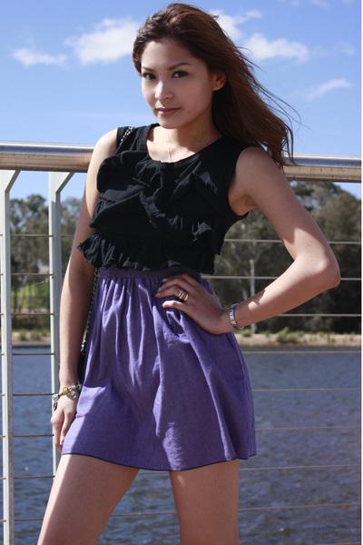 dress - dress - Chanel accessories - De Lourve shoes