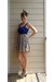 cream vintage skirt