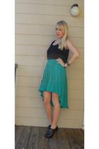 Green-vintage-skirt-skirt