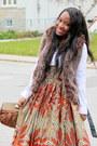 Tawny-skirt-bronze-vest