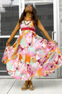 Bubble-gum-hand-sewn-in-cameroon-dress-brown-suzy-chier-necklace