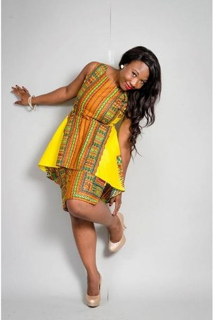 ankara Miss Beida Fashion dress