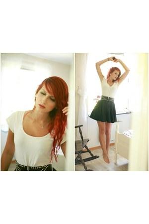 skate-skirt Ebay skirt - h&m divided t-shirt