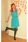Black-kitten-heel-unknown-brand-shoes-aquamarine-max-c-dress