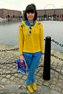 Yellow-brogues-primark-shoes-sky-blue-skinny-jeans-topshop-jeans