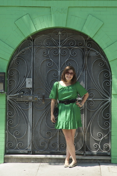 31 phillip lim dress - Chanel purse - Fendi sunglasses - Scoop shoes