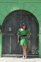 31 phillip lim dress - Chanel purse - Fendi sunglasses - Scoop shoes