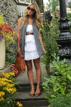 heather gray cargo wilfred vest - neutral leather ASH shoes