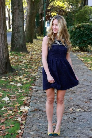 navy sparkle Choies dress