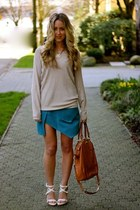 camel knit Left on Houston sweater