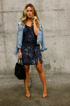 navy velvet Gypsy05 dress