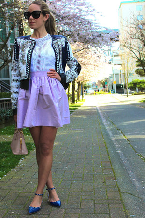 light purple a line PartySkirts skirt