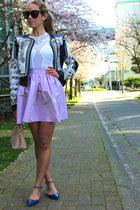 light purple a line PartySkirts skirt