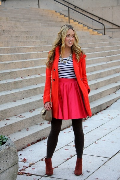 hot pink a line Blaque Label skirt