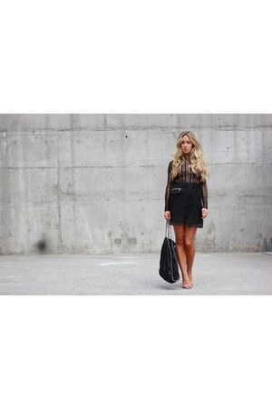 black black Three Floor dress
