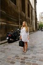 bubble gum floral Anine Bing dress