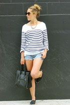 black mini shopper Celine bag