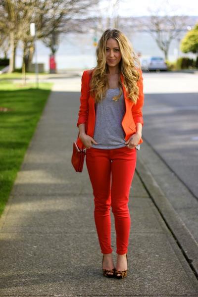 red clutch Celine bag