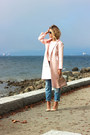 Light-pink-maxi-topshop-jacket