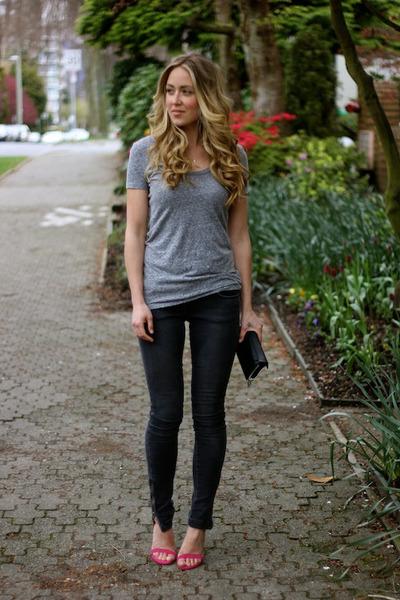 black skinny Anine Bing jeans