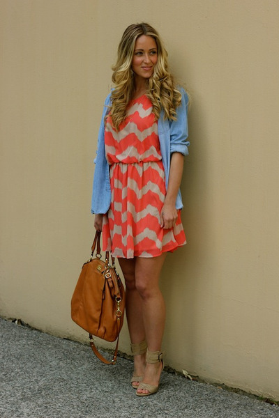 red chevron Shop Hallelu dress