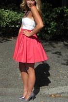 hot pink cotton Levislaque Label skirt