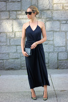black maxi Old Navy dress