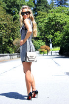 neutral rubie Mackage bag - black so kate Christian Louboutin heels