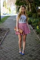 heather gray t-shrit Zoe Karssen shirt
