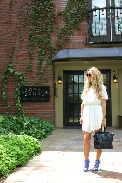 white white Aritzia dress