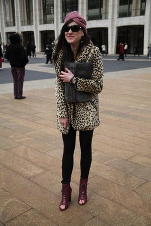 bronze asos coat