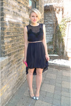 sparkle Express belt - asos dress - madison coach bag - kathryn shoemint pumps