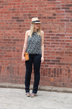 Paige Denim jeans - polka dot asos top