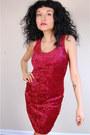 Red-velvet-carboncopyclothingcom-dress