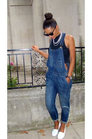 G-Shock watch - asos sunglasses - Topshop loafers - Accessorize necklace