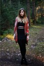 Black-dressvenus-boots-black-front-row-shop-top-burnt-orange-h-m-cardigan