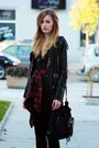 Black-sheinsidecom-jacket-ruby-red-new-yorker-shirt