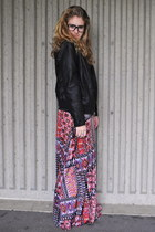 JCPenney skirt - Old Navy jacket - firmoo glasses