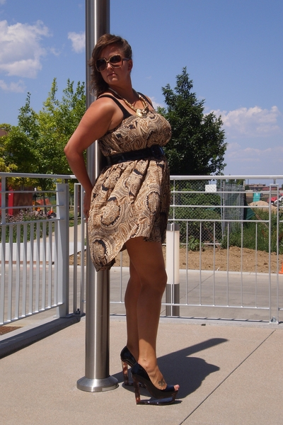secondhand skirt worn as dress dress - lingerie shop in Fort Collins CO intimate