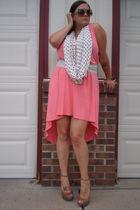 pink asos dress